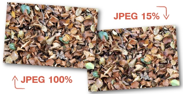 Comparer JPEG