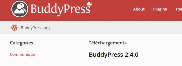 buddyPress réseau social avec wordpress