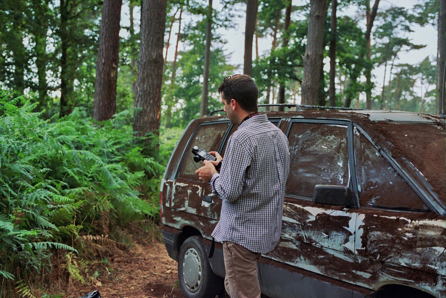 Ruines, tournage, Benoit Duvette