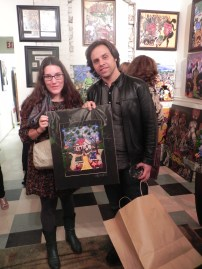 Owners of a new Benoit Gallery print.