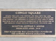 Congo Square - Where the ancestors gathered.