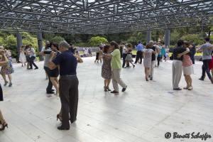 Milonga au Parc Bertrand, Genève, Suisse, 2014