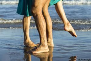 Milonga sur la plage, Festival International de Tango de Sitges 2014, Tango, danse,
