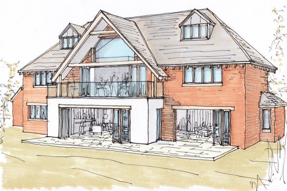 Planning Permission Granted For New Build Home Ben Parsons Design