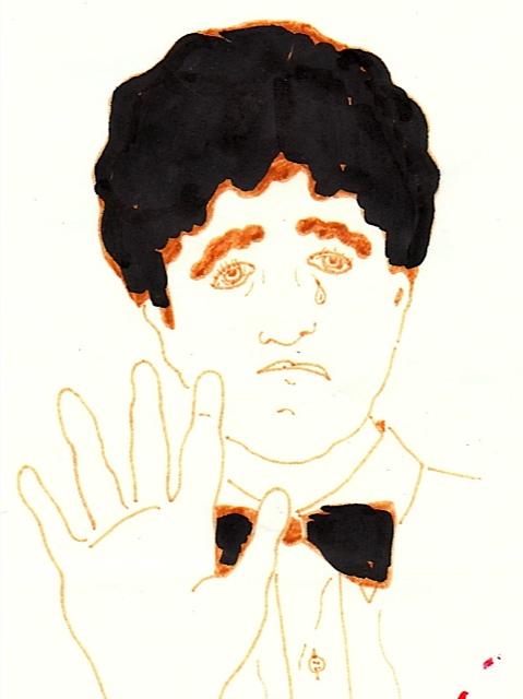 Ceci Davidson illustration, 5-16-1990