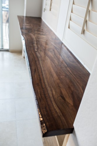 claro walnut counter top
