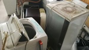 冷蔵庫、洗濯機の処分、つくば市
