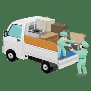 つくば市、土浦市、牛久市のトラック積み放題サービス、茨城県の業者