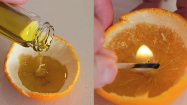Inainte de Craciun, bunica mea intotdeauna punea ulei de masline in clementine, iar cand am aflat si eu secretul, am incercat imediat