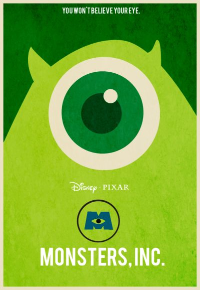 We Scare Because We Care: 20 Monsters Inc. Fan Posters