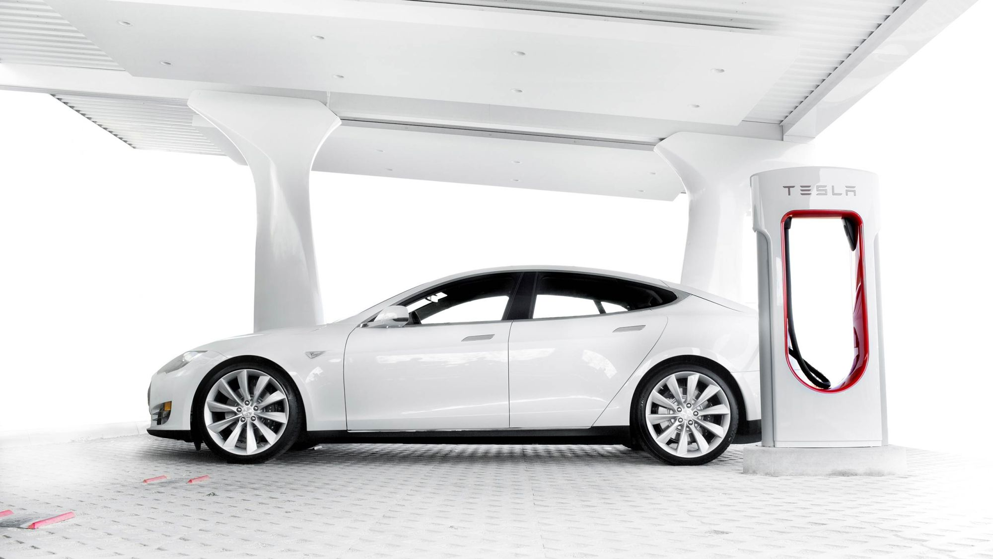 hight resolution of charging your tesla