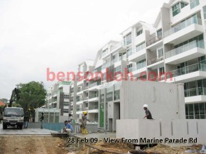 Tierra Vue Stack 18, 19, 14, 15 from Marine Parade Road