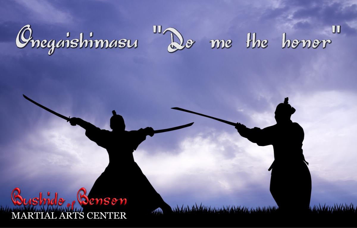 The power of Japanese words - Bushido of Benson Martial Arts
