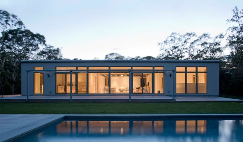 small resolution of modern long island one story home