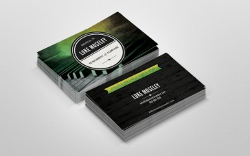 Luke Mosely Business Cards