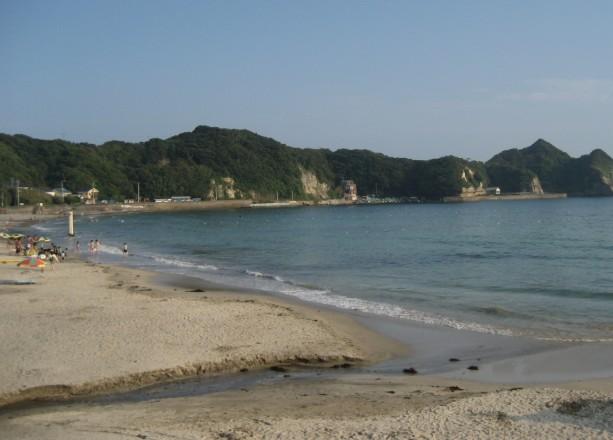 千葉県 鵜原海水浴場
