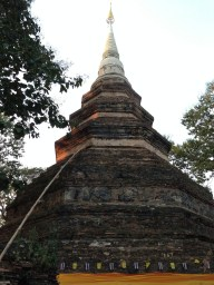 """This is the """"Chedi"""" in Wat Chedi Luang"""