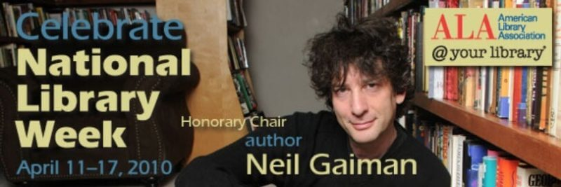 Neil Gaiman charges a public library $45,000 for a 4 hour appearance