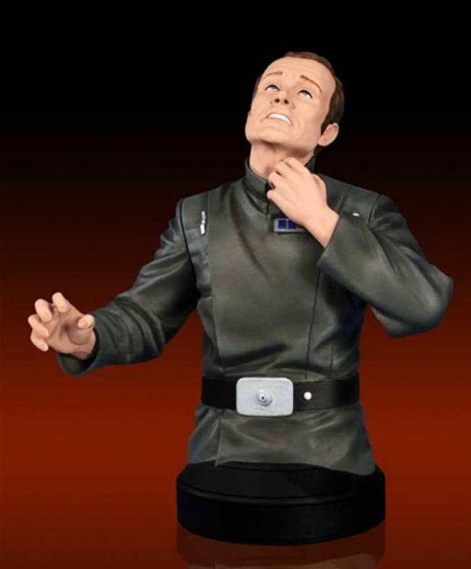 San Diego Comic-Con exclusive Admiral Motti bust - Bent Corner