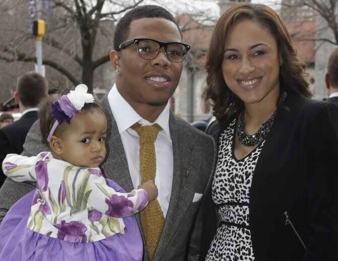 Ray Rice marries the woman he knocked out