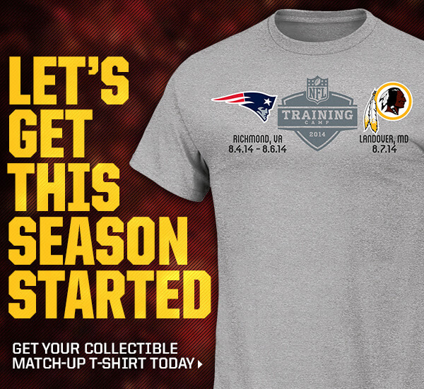 About those Redskins-Patriots special practice tees