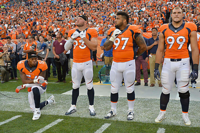 NFL players plan to protest against the United States 0n 9-11
