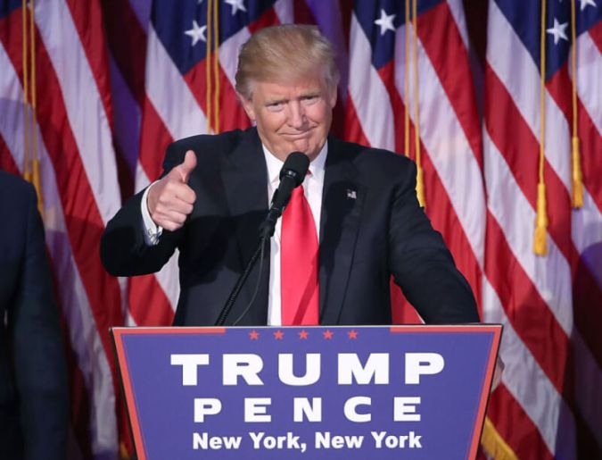 Donald Trump will be our next president - Bent Corner