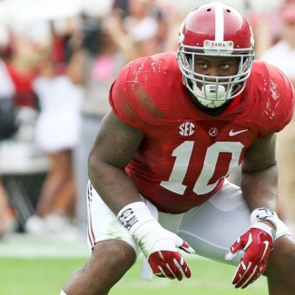 Alabama linebacker Reuben Foster sent home from NFL combine