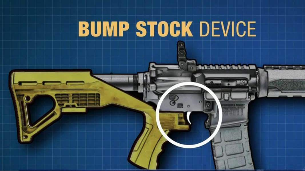 A total ban on bump stocks?