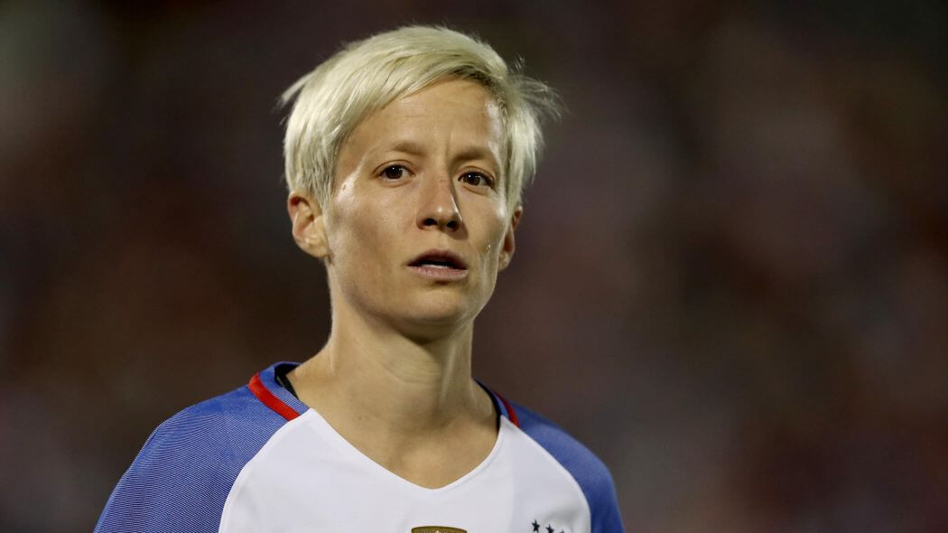 Megan Rapinoe is a sexist, ageist bigot