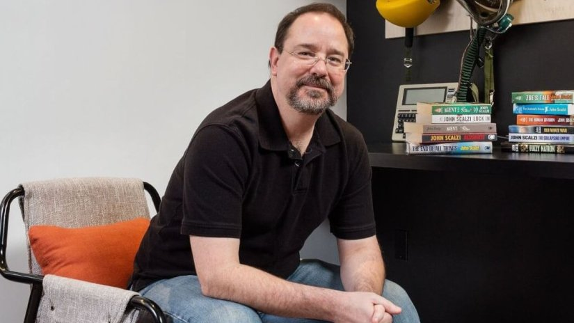 John Scalzi blames writing problems on Donald Trump