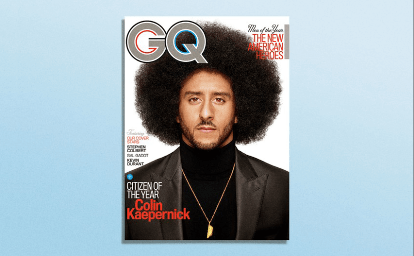 GQ names Colin Kaepernick its 'Citizen of the Year'