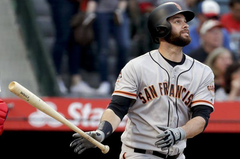 San Francisco Giants Brandon Belt has a 21-pitch at bat