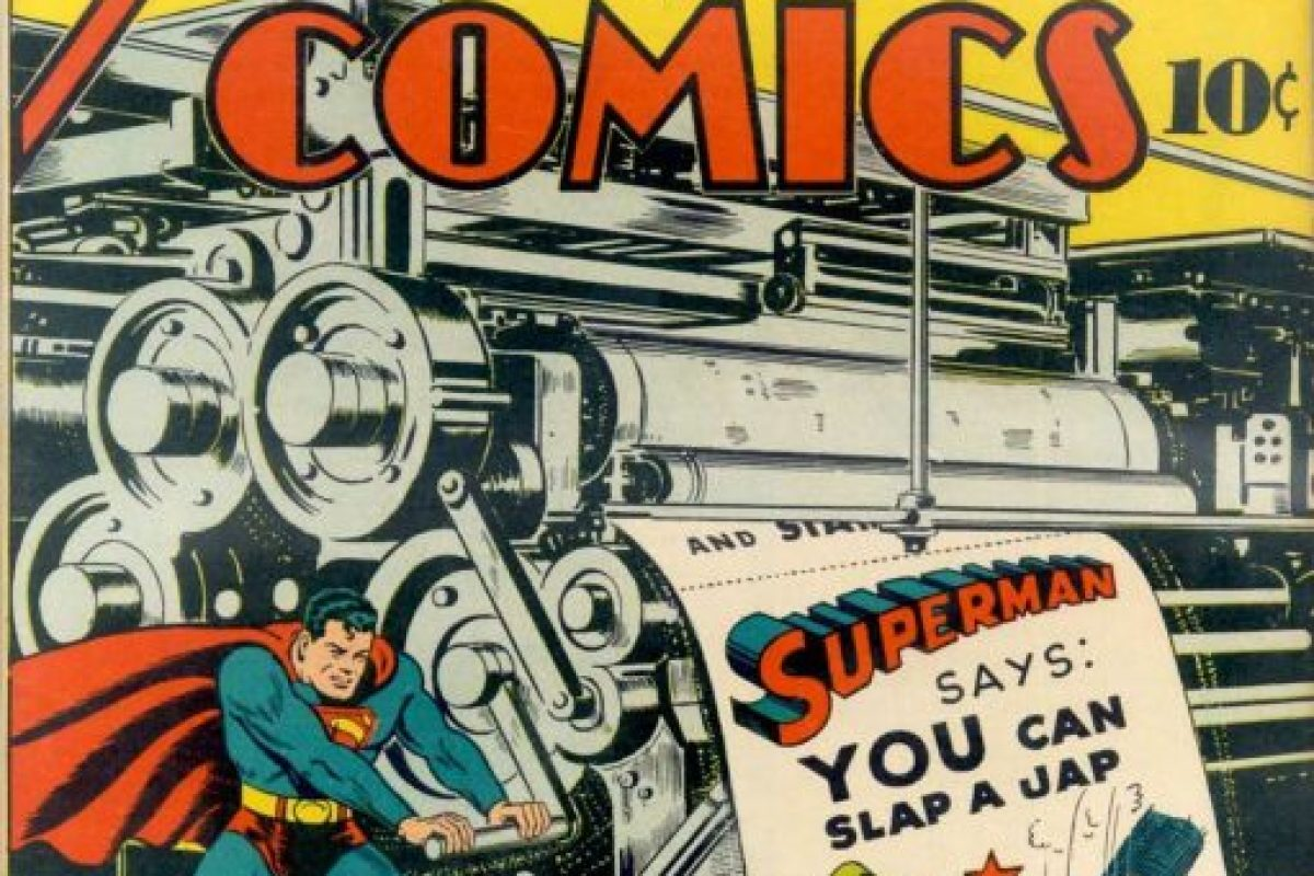 Superman used to be a racist, hateful jerk