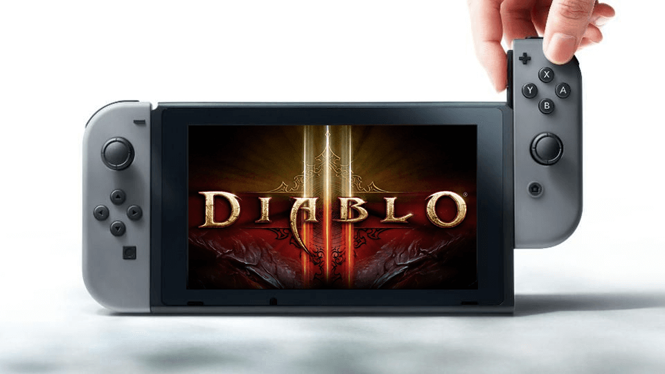 Diablo III: Eternal Collection Nintendo Switch bundle
