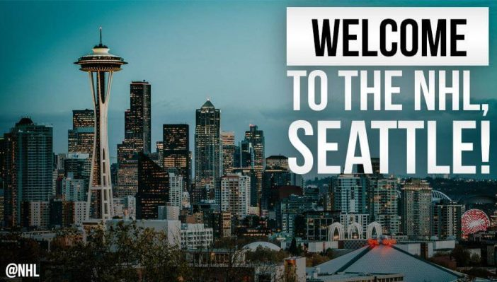 Seattle is getting an NHL team for the 2021-22 season