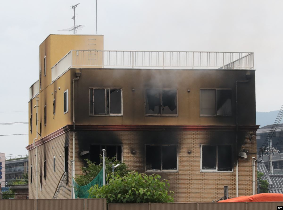 Kyoto Animation arson attack kills at least 33 people