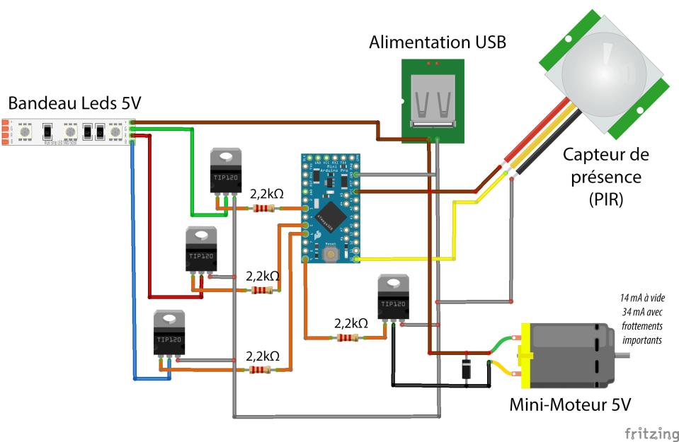 Le circuit électronique de notre système !