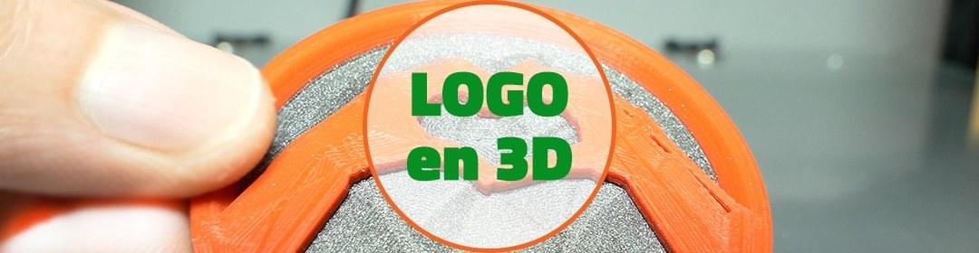FUSION 360 – Reproduire un logo en 3D avec 2 couleurs [3/10] [VIDEO]