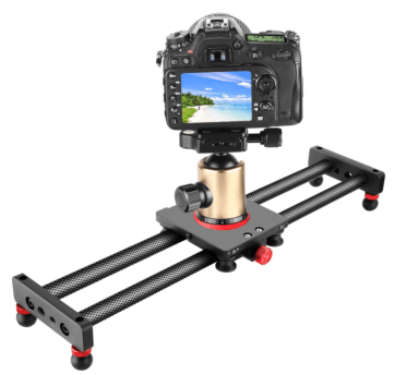 slider caméra manuel