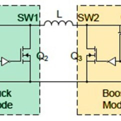 Circuit Diagram Of Buck Boost Converter Craftsman Lt1000 Lawn Tractor Wiring Modeling And Controlling Strategy Four Switch 1 Shows The Schematic Single Inductor