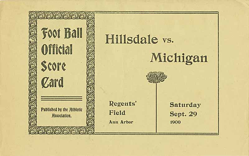 Image result for michigan football 1900