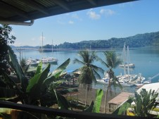 Our view overlooking Golfito Bay