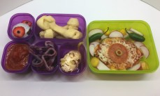 Healthy, Homemade, Homemade, Halloween Bentos