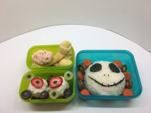 Bento Boxes For Halloween;Diary of a Concussion