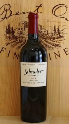 Schrader Beckstoffer GIII Vineyard 2014