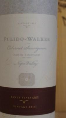 Pulido Walker Panek Vineyard 2014