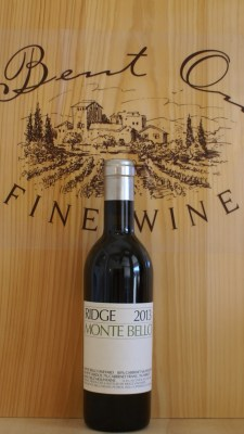 Ridge Monte Bello 2013