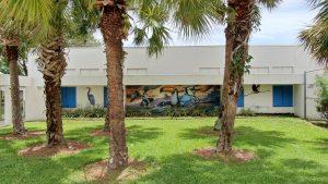 mural on school wall