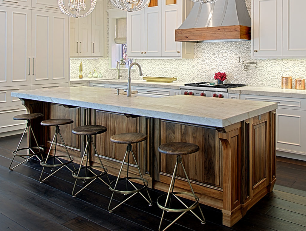 kitchen island counter kidkraft modern country 53222 large profile tops benvenuti and stein chicago lakeview